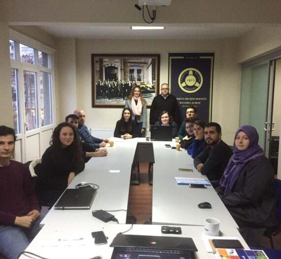 TBD İstanbul Genç ÇG 2018 Dönemi ilk toplantısı dernek ofisinde yapıldı.