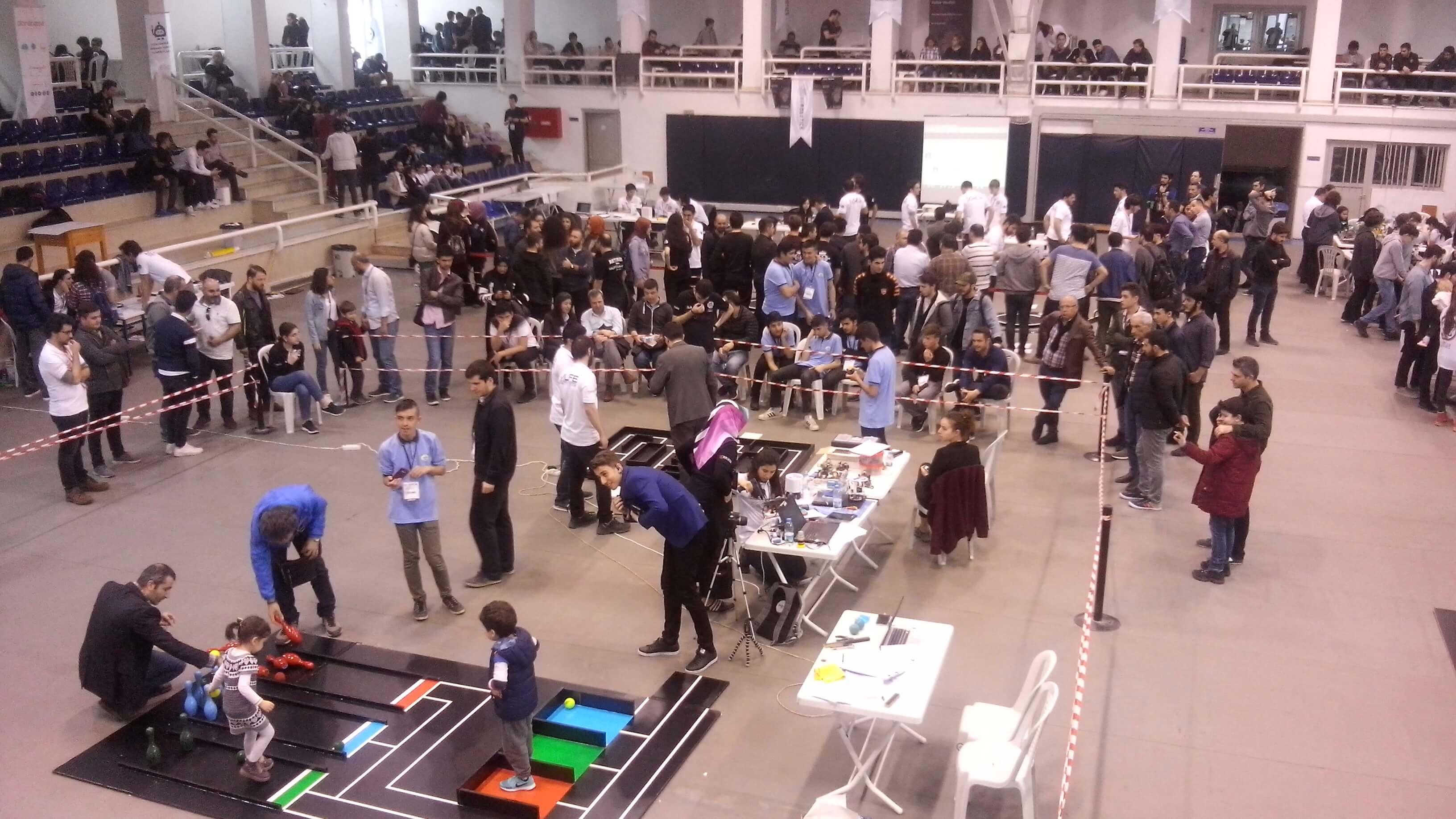 Uluslararası Marmara Robot Olimpiyatları 2018