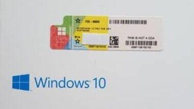 Windows Ürün Anahtarının Bulunması